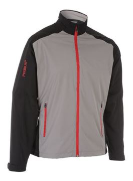 Picture of ProQuip Mens PX1 Waterproof Jacket - Grey/Black
