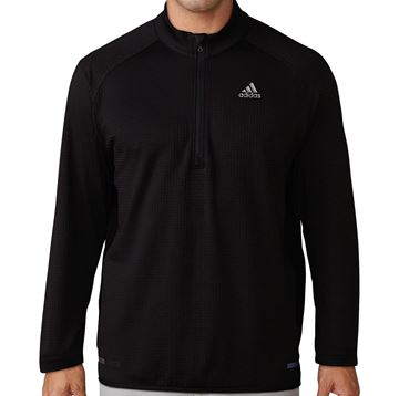 Picture of Adidas Mens Climaheat Gridded 1/4 Zip Pullover - CY9367