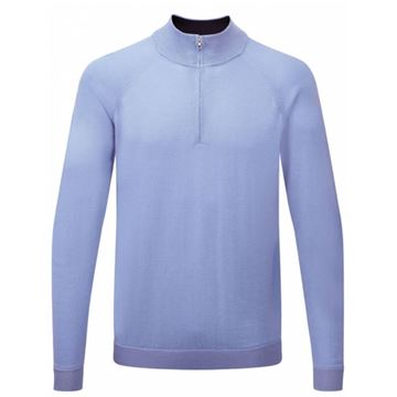 Picture of Ping Mens Dunbar Sweater - Blue Lagoon