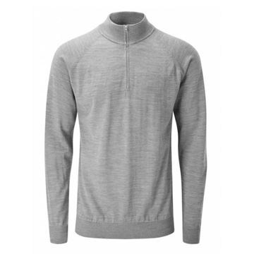Picture of Ping Mens Dunbar Sweater - French Grey Marl