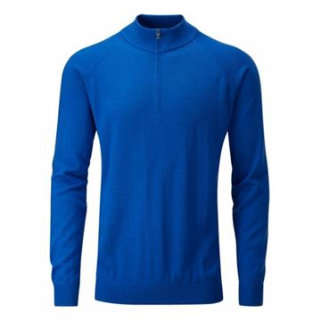 Picture of Ping Mens Dunbar Sweater - Imperial Blue