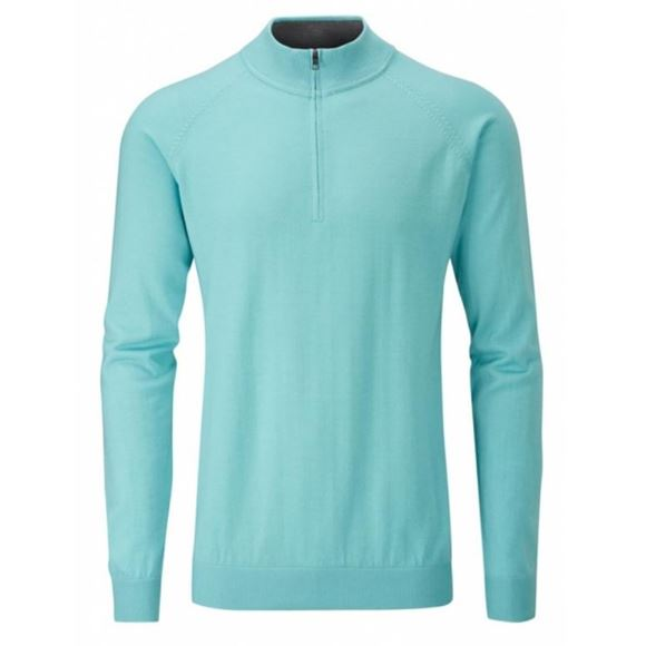 Picture of Ping Mens Dunbar Sweater - Seafoam