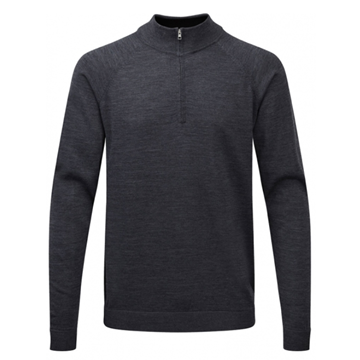 Picture of Ping Mens Dunbar Sweater - Smoke Marl