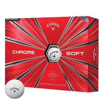 Picture of Callaway Chrome Soft Golf Balls 2018 Model - PRINTED