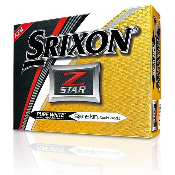 Picture of Srixon Z Star Golf Balls - White