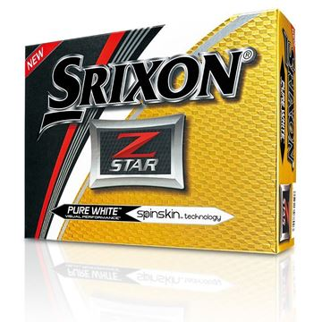 Picture of Srixon Z Star Golf Balls - White - PRINTED