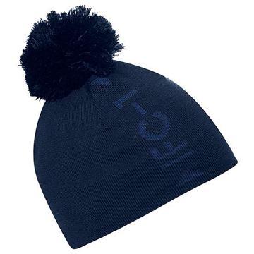 Picture of Galvin Green Mens Lennon Bobble Hat - Blue