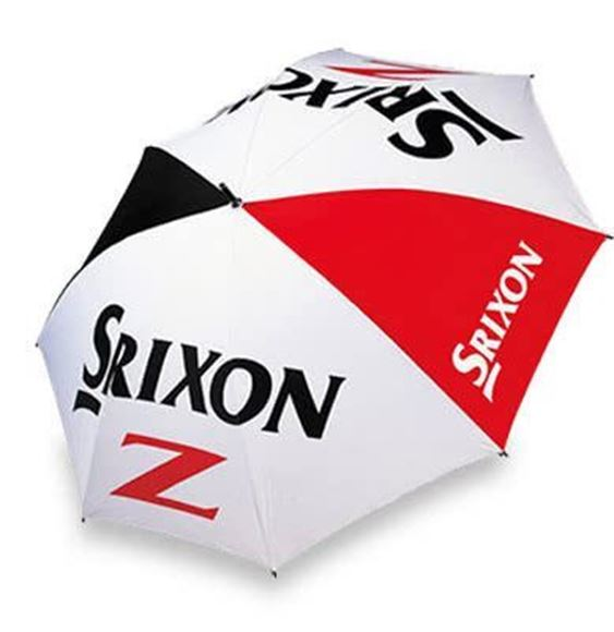 Picture of Srixon Double Canopy Umbrella - White/Black/Red