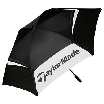 Picture of TaylorMade Tour Umbrella - Black/White/Grey