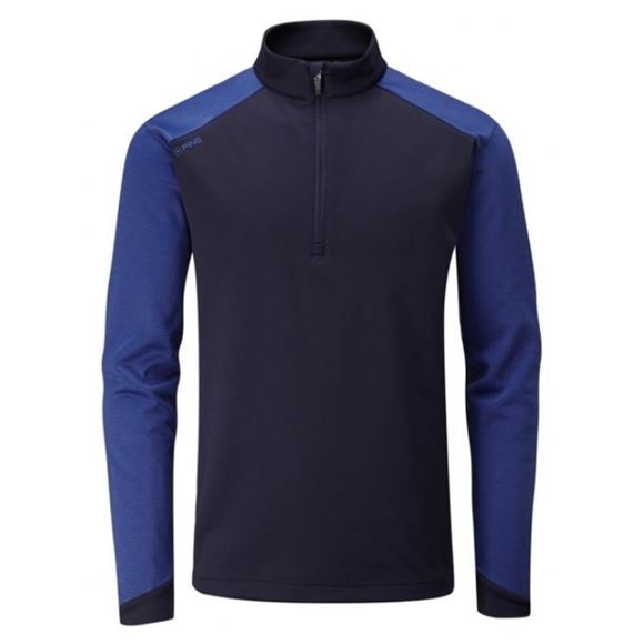 Picture of Ping Mens Austin 1/4 Zip Pullover - Navy
