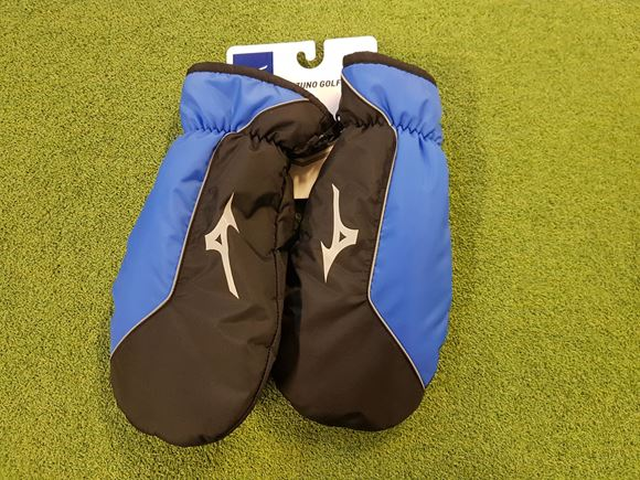 Picture of Mizuno Golf Mitts - Blue/Black