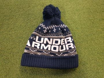 Picture of Under Armour Retro Pompom 3.0 Bobble Hat - Navy
