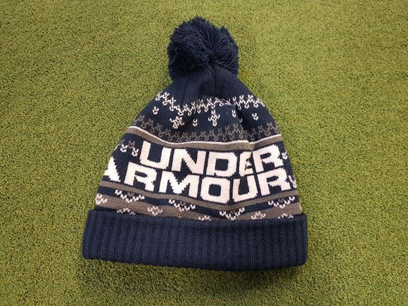 Under Armour Mens Bobble Hat - Navy - Next Day Delivery Golf Equipment 08ff652ee85