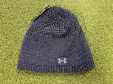 Picture of Under Armour Beenie Hat - Navy