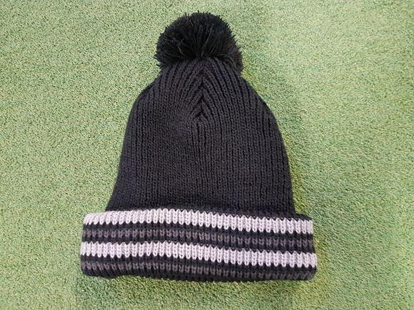 Picture of Mizuno Mens Bobble Hat - Black