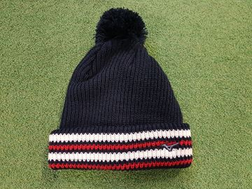Picture of Mizuno Mens Bobble Hat - Navy