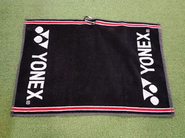 Picture of Yonex Towel - Black/Red/White