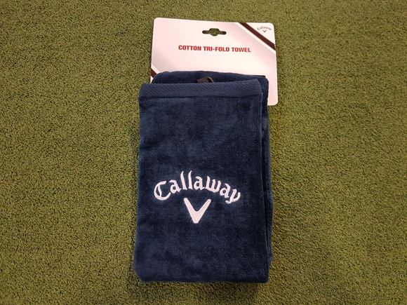Picture of Callaway Tri-Fold Towel - Blue