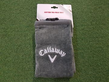 Picture of Callaway Tri-Fold Towel - Grey
