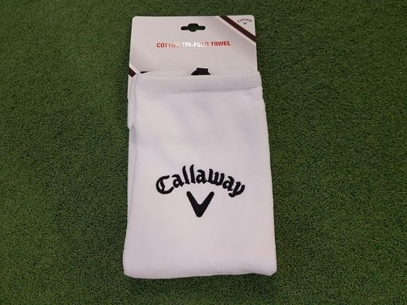 Picture of Callaway Tri-Fold Towel - White