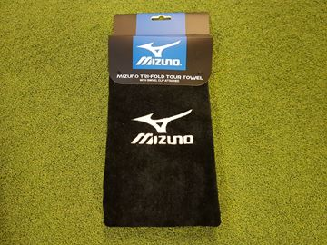 Picture of Mizuno Tri-Fold Towel - Black