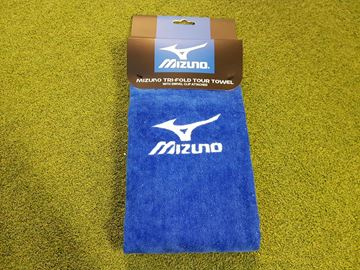 Picture of Mizuno Tri-Fold Towel - Blue