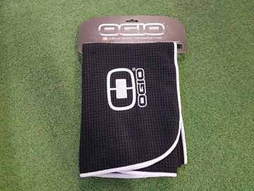 Picture of Ogio Aquatech Performance Towel - Black/White