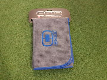 Picture of Ogio Aquatech Performance Towel - Grey/Blue