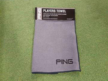 Picture of Ping Players Towel - Grey