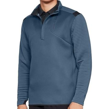 Picture of Under Armour Mens Storm Daytona 1/4 Zip Pullover - Petrol Blue
