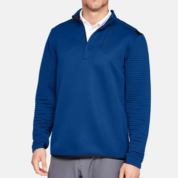 Picture of Under Armour Mens Storm Daytona 1/4 Zip Pullover - Blue