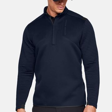 Picture of Under Armour Mens Storm Daytona 1/4 Zip Pullover - Navy