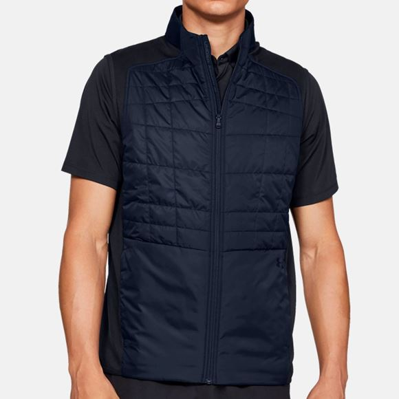 Picture of Under Armour Mens Insulated Vest - Blue