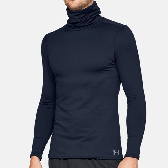 Picture of Under Armour Funnel Neck Base Layer - Navy