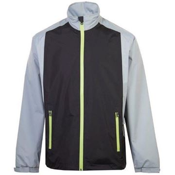 Picture of ProQuip Mens PX1 PAR Waterproof Jacket - Black/Grey/Green