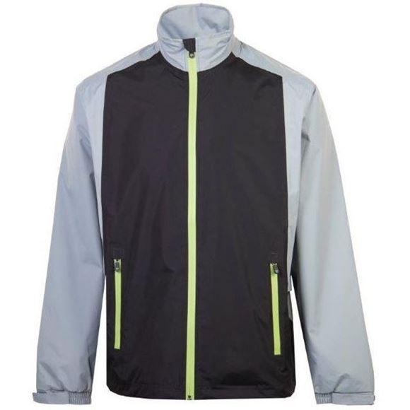 Picture of ProQuip Mens PX1 PAR Waterproof Jacket - Black/Grey/Green