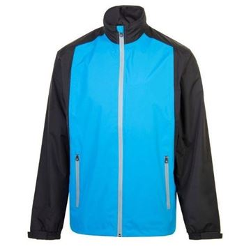 Picture of ProQuip Mens PX1 PAR Waterproof Jacket - Blue/Black
