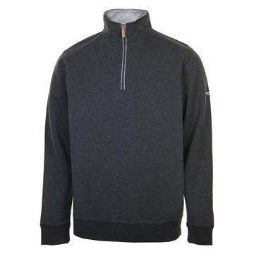 Picture of ProQuip Mens Mistral 1/4 Zip Pullover - Dark Grey