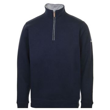 Picture of ProQuip Mens Mistral 1/4 Zip Pullover -  Navy