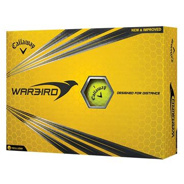 Picture of Callaway Warbird Golf Balls - Yellow