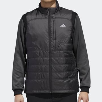 Picture of Adidas Mens Climaheat Frostguard Primaloft Jacket - Black/Grey