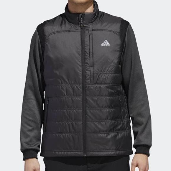 Picture of Adidas Mens Climaheat Frostguard Primaloft Jacket - Black/Grey