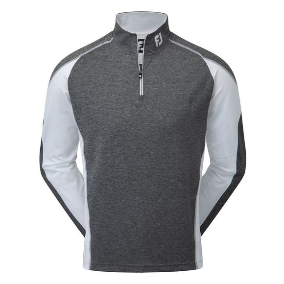 Picture of Footjoy Mens Mixed Texture Sport Chill-Out Pullover - 92404