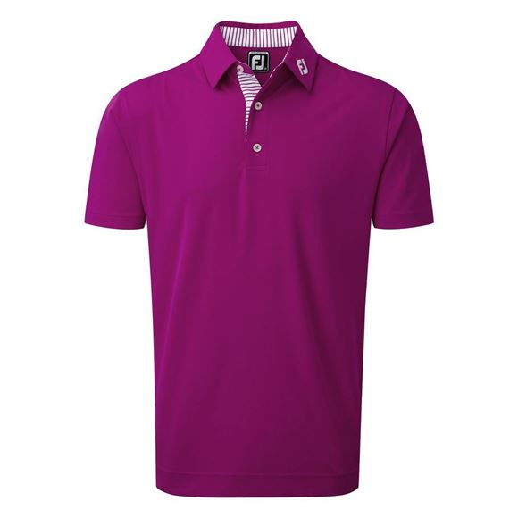 Picture of Footjoy Mens Smooth Pique Polo Shirt - 92166