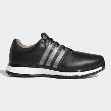 Picture of adidas Tour 360 XT-SL Golf Shoes - Black/Silver