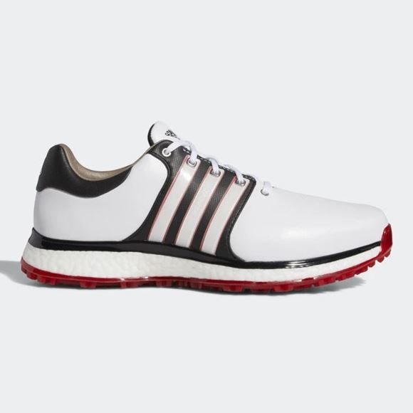 Picture of adidas Tour 360 XT-SL Golf Shoes - White/Red