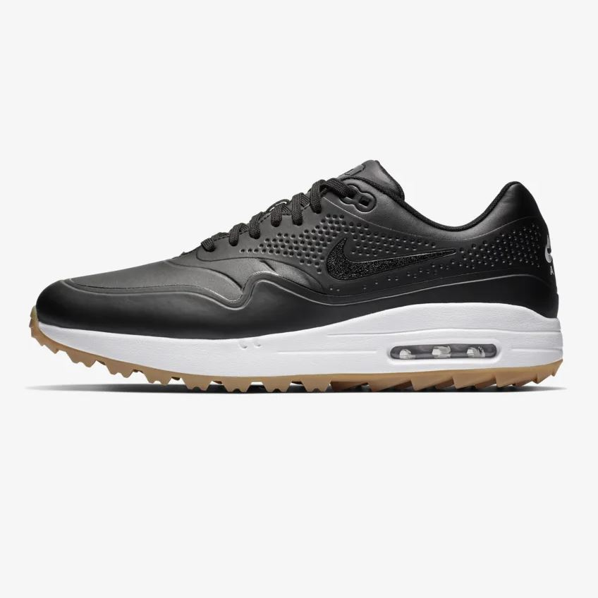 9a5d13ec01ece Nike Air Max 1 G Golf Shoes - Black - Next Day Delivery Golf Equipment