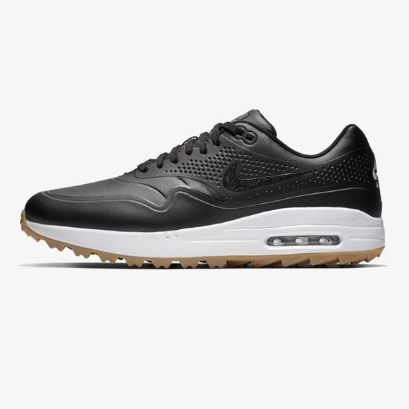 newest d7e0f 28fd4 Picture of Nike Air Max 1 G Golf Shoes - Black