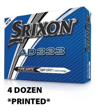 Picture of Srixon AD333 Golf Balls - 4 Dozen *PRINTED*