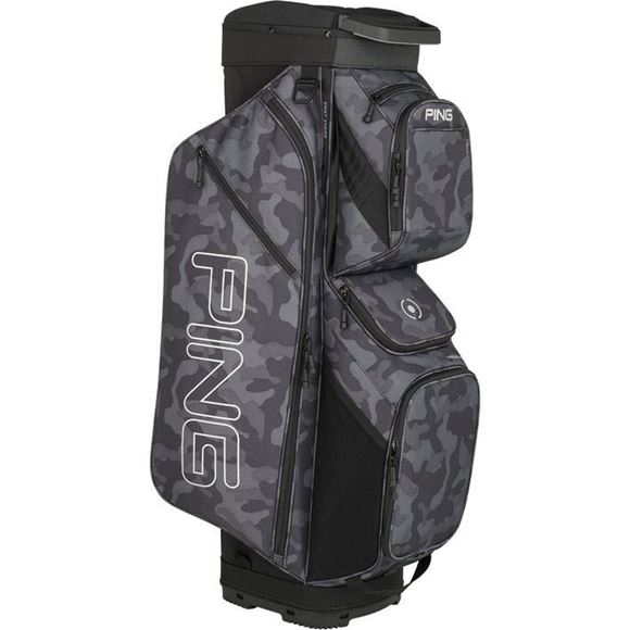 Picture of Ping Traverse Cart Bag 2019 - Black Camo/Platinum
